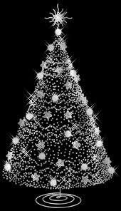 black and white ombre trees tree ideas zebra