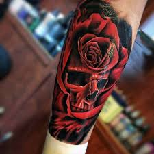 50 realistic skull tattoos for men masculine design ideas