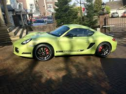 porsche cayman green finally registered cayman r owner see below page 1 porsche