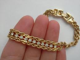 gold tone tennis bracelet images 103 best vintage bracelets images ancient bracelet jpg