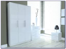 Oak And White Gloss Bedroom Furniture - white gloss oak bedroom furniture bedroom home design ideas