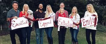 christmas card photo family celebrates single in hilarious christmas card