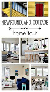 newfoundland cottage charming home tour town u0026 country living