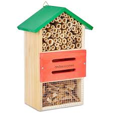 andrew james bee house and insect house the perfect home for