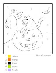 color by number pumpkin2 kids pinterest color by numbers