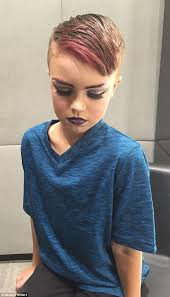 become a professional makeup artist boy 8 who wants to learn drag makeup has makeover