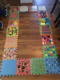 Sensory Room For Kids by A Diy Sensory Walk Made Out Of Foam Puzzle Tiles Find The Tiles