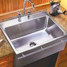 Drop In Farmhouse Kitchen Sink Culinary Gourmet Stainless Steel Kitchen Sinks
