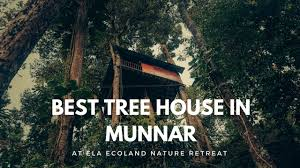 best tree houses best tree house in munnar ela ecoland nature retreat youtube