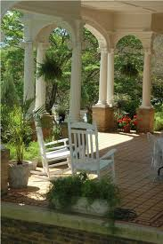 amazing exterior magnificent front porch decoration using round