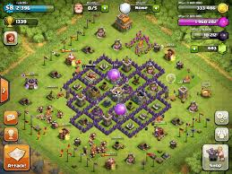 free clash of clans wizard town hall 7 farming bases clash of clans