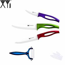 best ceramic kitchen knives best xyj brand ceramic knife set 6