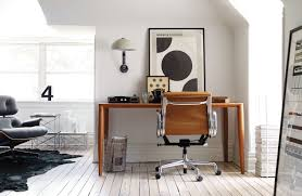 bottega leather desk design within reach
