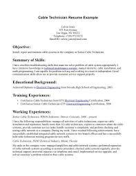 100 avionics technician resume sample resume for international