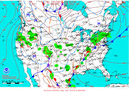 Current Us Weather Map Wpc North American Surface Analyses