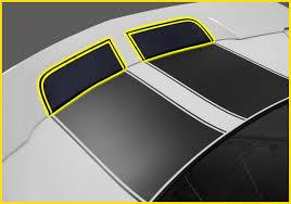 camaro rear spoiler 2010 2011 2012 2013 camaro rally stripe continuation kit for