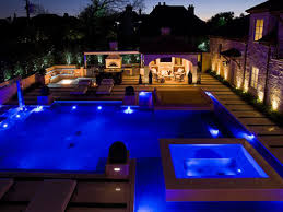 Pool Landscape Lighting Ideas by Awesome Kitchen With Pool Imanada Architecture Cheap And Romantic