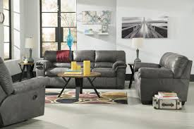 Ashley Sofa Table by Signature Design By Ashley Bladen Casual Faux Leather Full Sofa
