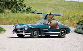 mercedes auction one owner mercedes 300sl gullwing roadster headed to