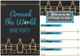 dinner party invitations dinner party ideas for an around the world theme