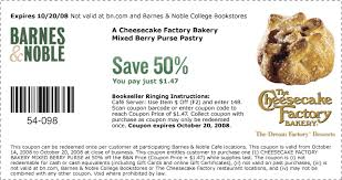 Barnes And Noble Coupns Printable Coupons Cheesecake Factory Rooms To Rent For Couples