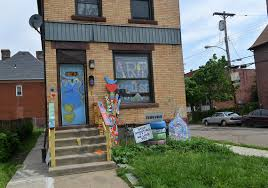 Artist House by Man Fatally Shot Outside Art House In Homewood Pittsburgh Post