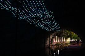 waller creek light show austin s waller creek conservancy hosts an illuminated night walk