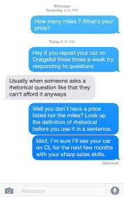 Why Am I Getting Flagged On Craigslist Messaged A Guy On Cl About A Car Mildlyinfuriating