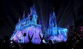 the wizarding world of harry potter s light show is