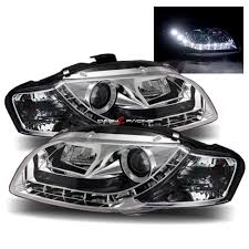 audi a4 headlight bulb dash z racing lighting aftermarket lights headlights