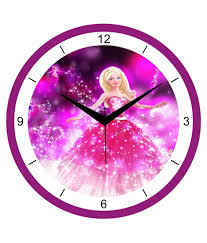 Wall Clock Wall Clock Pink For Interior U2013 Wall Clocks