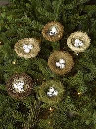 ornaments bird ornaments for tree bird nest