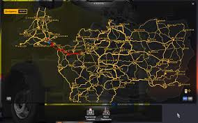 Truck Route Maps Steam Community Guide How To Open Map On 100 Important