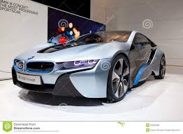 bmw concept i8 bmw i8 concept car editorial stock photo image of naias 22822298