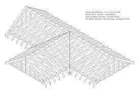 Roof Framing Pictures by Gabled Roof Framing Los Angeles Home Inspector Illustrates Gable