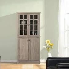 rustic glass kitchen cabinets rustic wooden kitchen china cabinet storage organizer