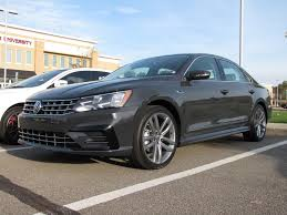 volkswagen passat r line blue driven 2017 volkswagen passat r line the big vw drivers car