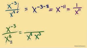 monomials 4 quotient rule dividing monomials youtube