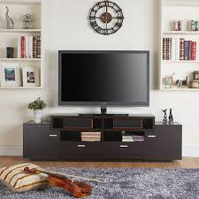 Simple Tv Stands Amazon Com Furniture Of America 72 Inch Peyton Modern Tiered