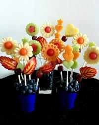 fresh fruit bouquets creative kids fruit platter edible fresh fruit flowers www carveit