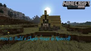 styles of houses to build how to build a skyrim house in minecraft easy youtube