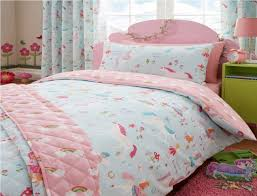Unicorn Bed Set Magical Unicorn Bedding Set With Duvet Cover Curtains And Throw
