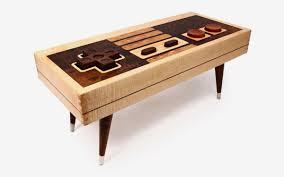 nes controller coffee table by bohemian workbench on etsy insidehook