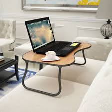 Laptop Desk With Wheels Folding Desk Portable Standing Bed Desk Computer Laptop Stand