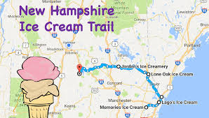 Dover Ohio Map by The Ultimate Ice Cream Trail Through New Hampshire