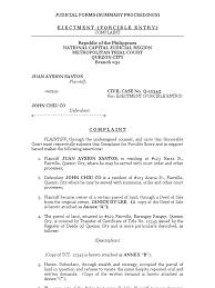 Sle Of Barangay Certification Letter Complaints Forms Templateshr Complaint Formjpg Address Change Template