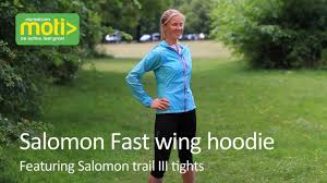 salomon fast wing hoodie youtube