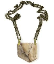 wood jewelry necklace images Petro wood saddle necklace ttereve jpg