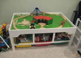 activity table with storage wood pro toy wooden train table plans