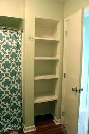 bathroom closet shelving ideas bathroom closet ideas exquisite linen storage ideas for your home